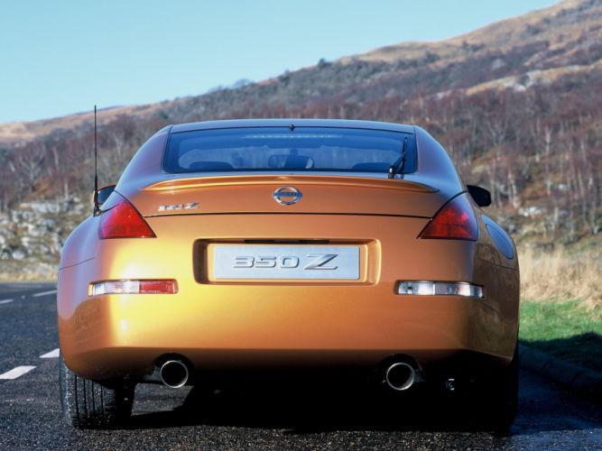 Nissan 350Z 35th Anniversary 2005 coupe cars wallpaper
