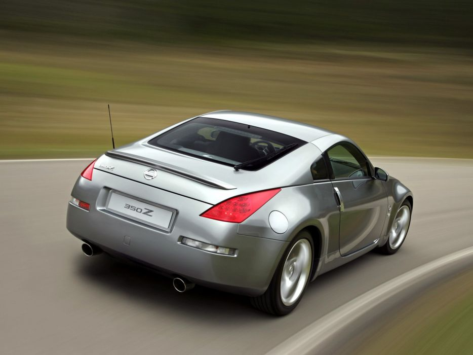 Nissan 350Z 2006 coupe cars wallpaper