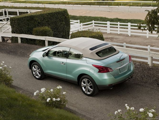Nissan Murano Cross Cabriolet cars 2011 wallpaper