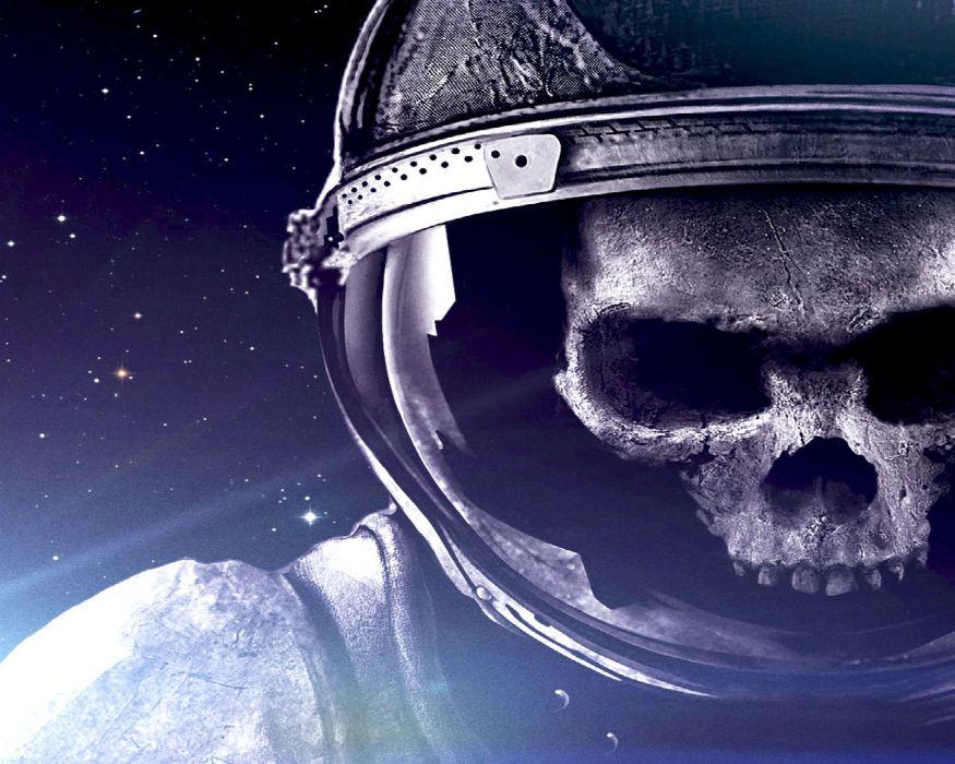 VEGA Conflict sci-fi action fighting futuristic space spaceship mmo online rpg 1vegac poster skull astronaut dark skull wallpaper