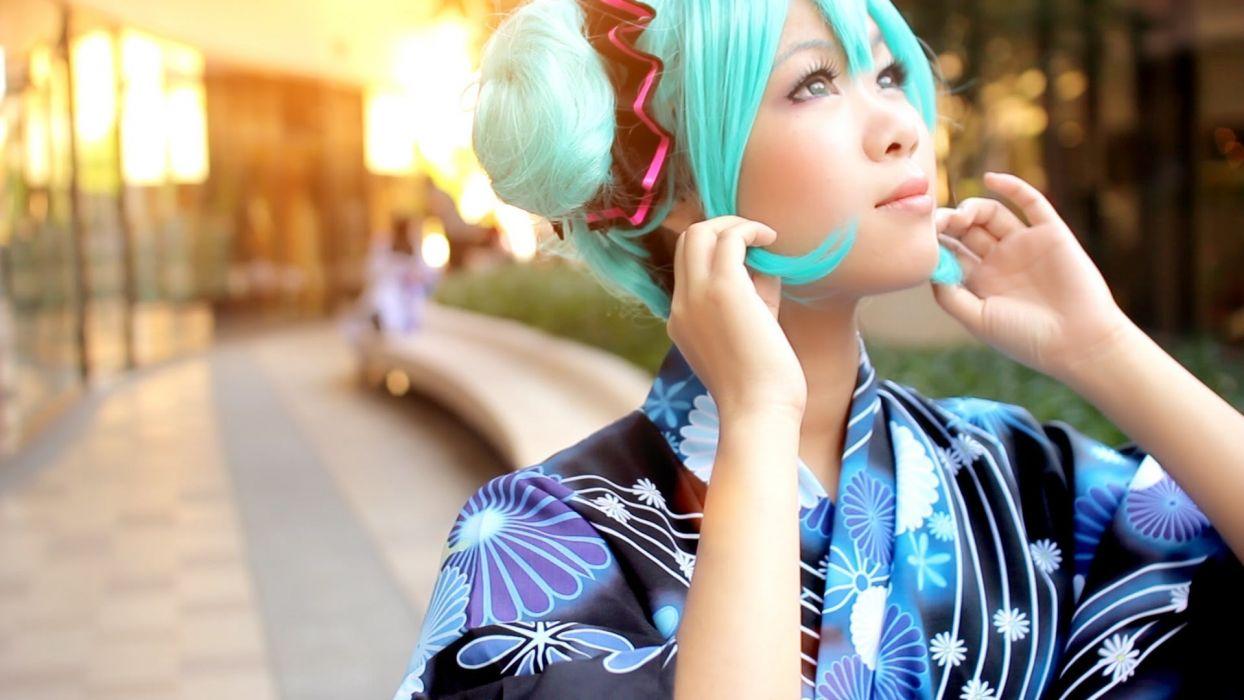 women model woman female girl girls cosplay fetish sexy babe fantasy oriental asian fr wallpaper