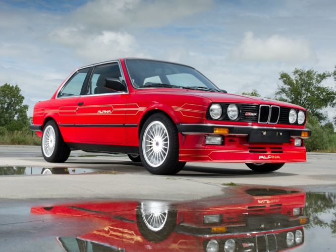 Alpina-B3 2 7 S coupe (E30) 1987 wallpaper