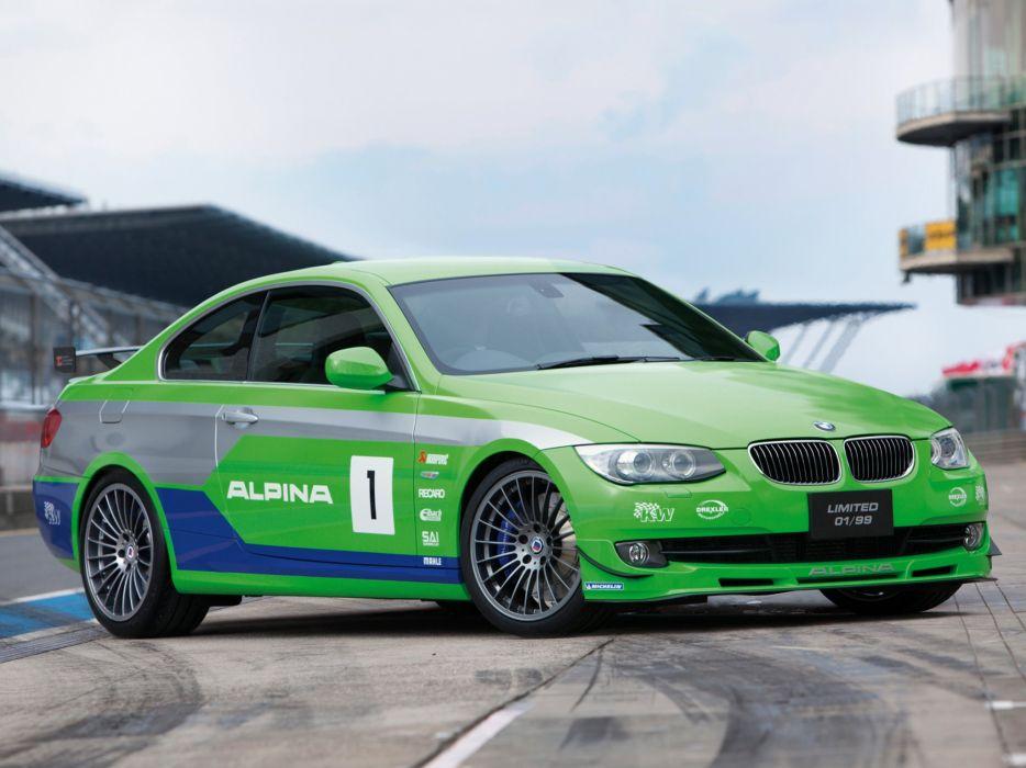 Alpina-B3 GT3 (E92) UK-spec cars 2012 wallpaper