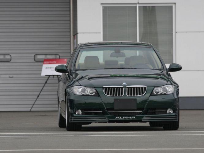 Alpina-B3 Bi-Turbo Limousine (E90) 2007 cars wallpaper