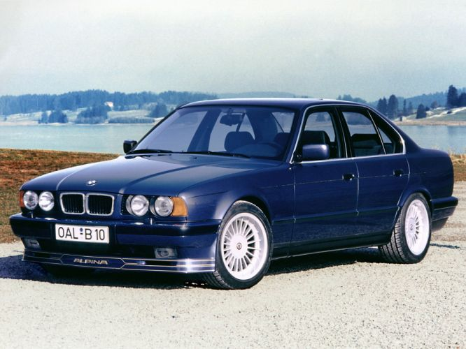 Alpina-B10 4 6 (E34) 1994 cars wallpaper