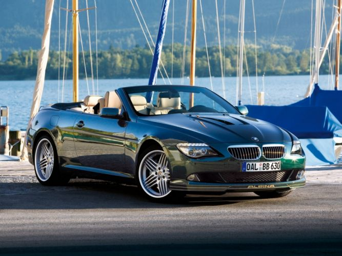 Alpina-B6 cabriolet (E64) 2007 wallpaper