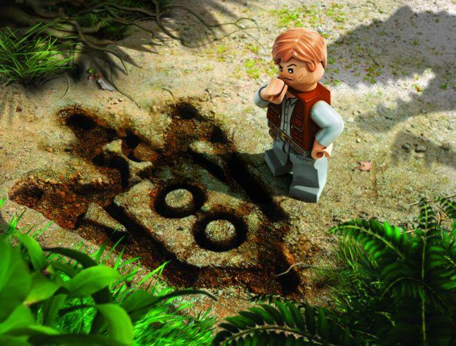 LEGO JURASSIC WORLD dinosaur fantasy sci-fi adventure monster creature action park 1ljp wallpaper