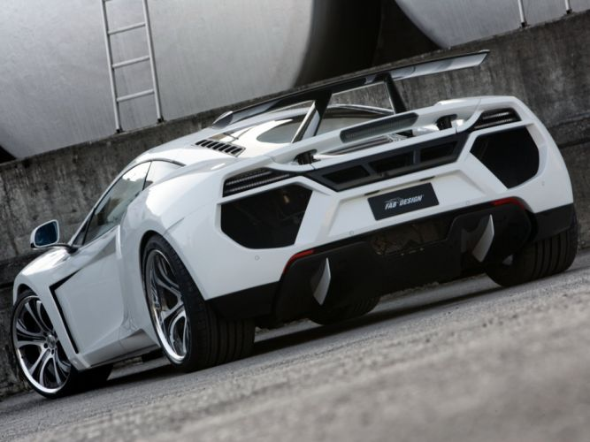 FAB Design McLaren MP4-12C Terso supercars modified 2012 wallpaper