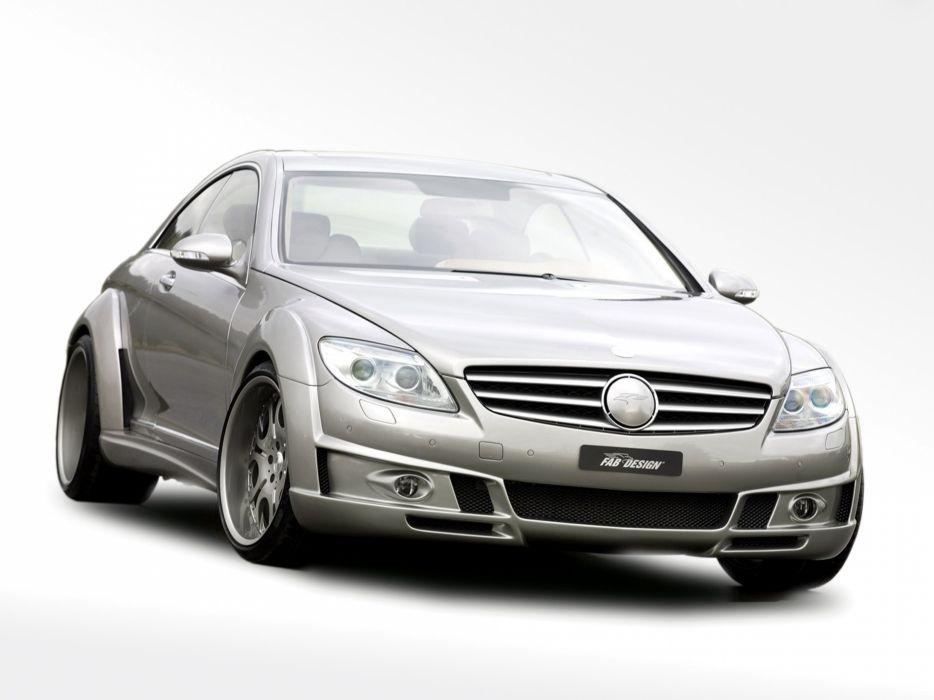 FAB Design Mercedes-Benz CL-600 (C216) modified cars 2007 wallpaper