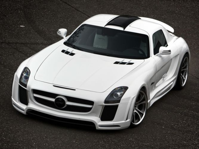 FAB Design mercedes SLS-63 AMG (C197) 2011 cars modified wallpaper