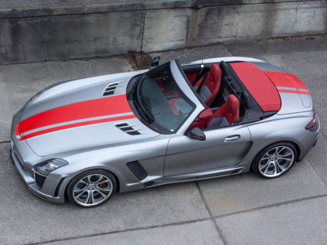 FAB Design mercedes SLS-63 AMG Roadster; Jetstream (r197) 2015 cars modified wallpaper