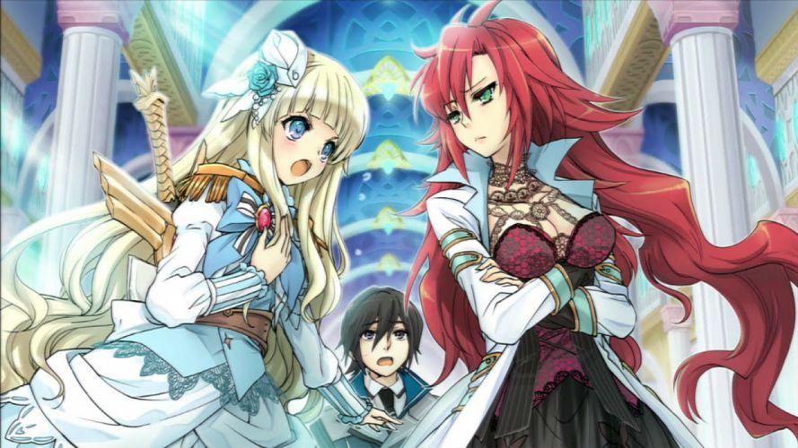 AWAKENED FATE dungeon crawler anime manga 1afate action adventure gods rpg fantasy wallpaper