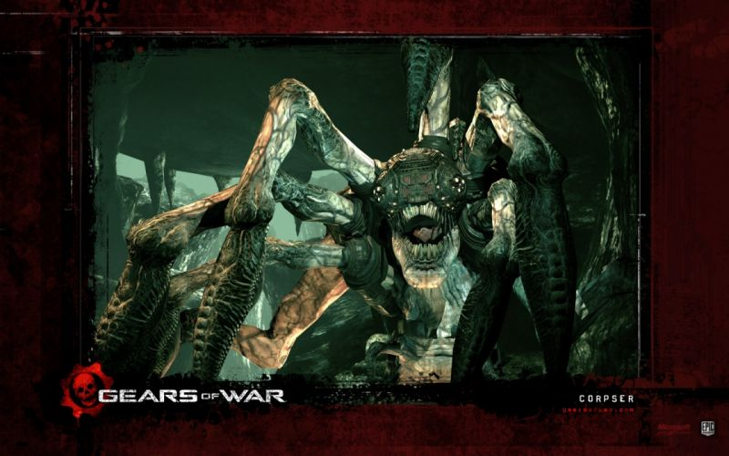 GEARS Of WAR fighting action military shooter strategy 1gw warrior sci-fi futuristic armor war battle poster wallpaper