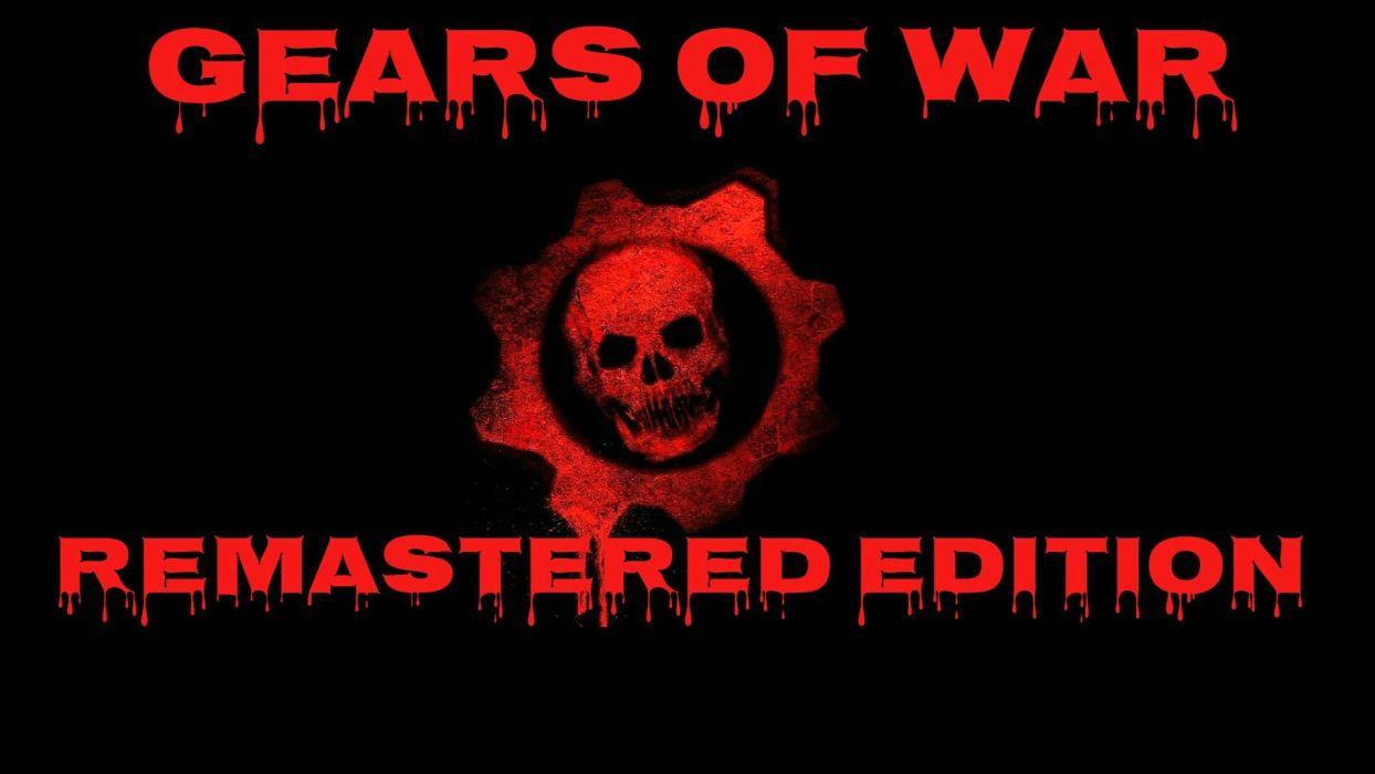 GEARS Of WAR fighting action military shooter strategy 1gw warrior sci-fi futuristic armor war battle poster dark skull blood wallpaper