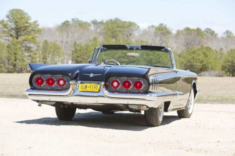 1960 Ford Thunderbird Convertible classic cars wallpaper