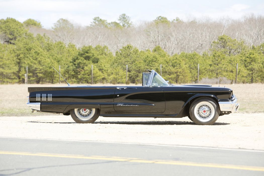 1960 Ford Thunderbird Convertible classic cars wallpaper