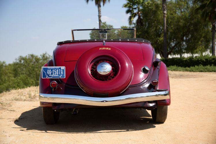 Auburn 85-SC Convertible Coupe 1935 classic cars wallpaper