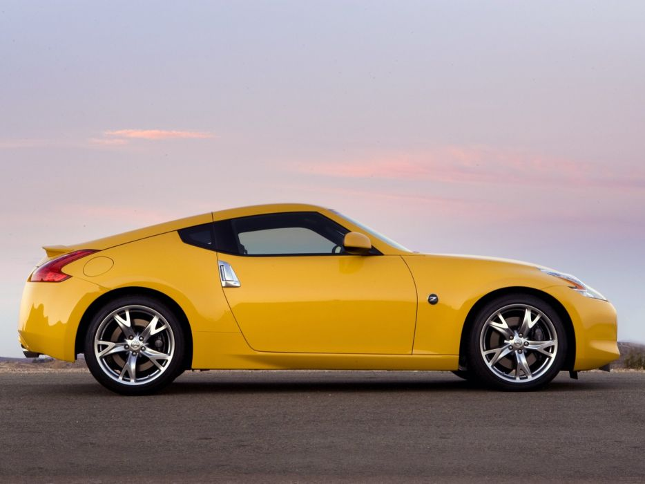 Nissan 370Z US-spec cars coupe 2009 wallpaper