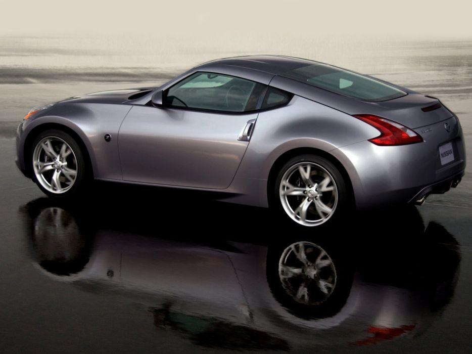 Nissan 370Z US-spec cars coupe 2009 wallpaper