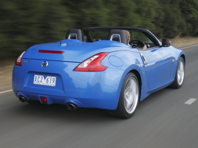 Nissan 370Z Roadster AU-spec cars 2009 wallpaper