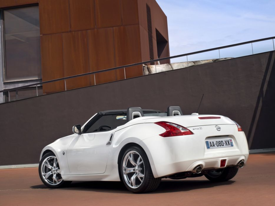 Nissan 370Z Roadster cars 2009 wallpaper