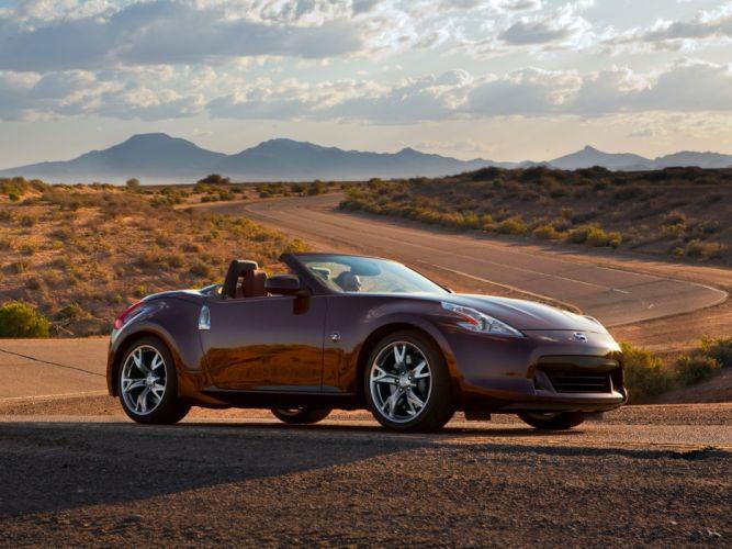 Nissan 370Z Roadster US-spec cars 2009 wallpaper