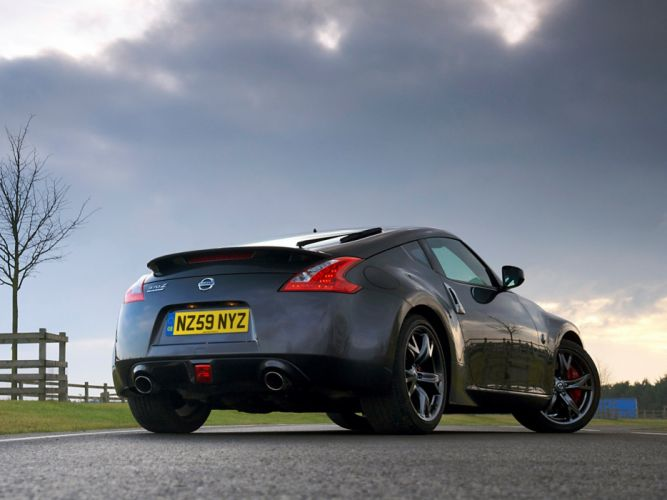 Nissan 370Z Black Edition coupe cars 2010 wallpaper