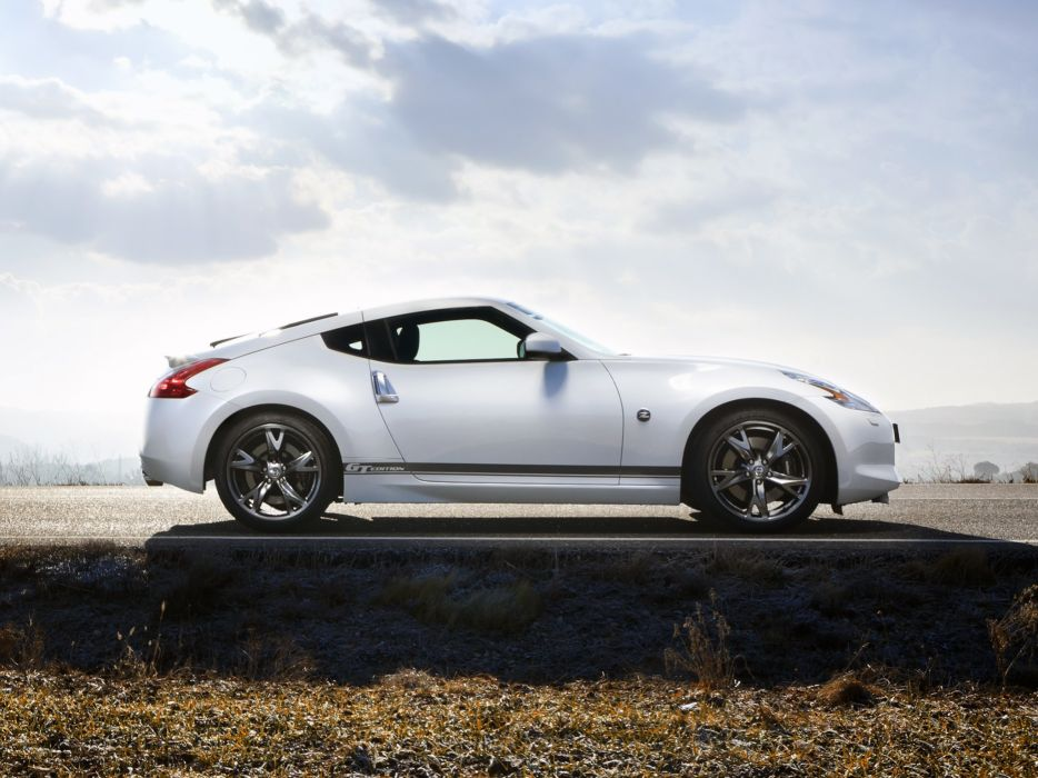 Nissan 370Z gt-Edition coupe cars 2011 wallpaper