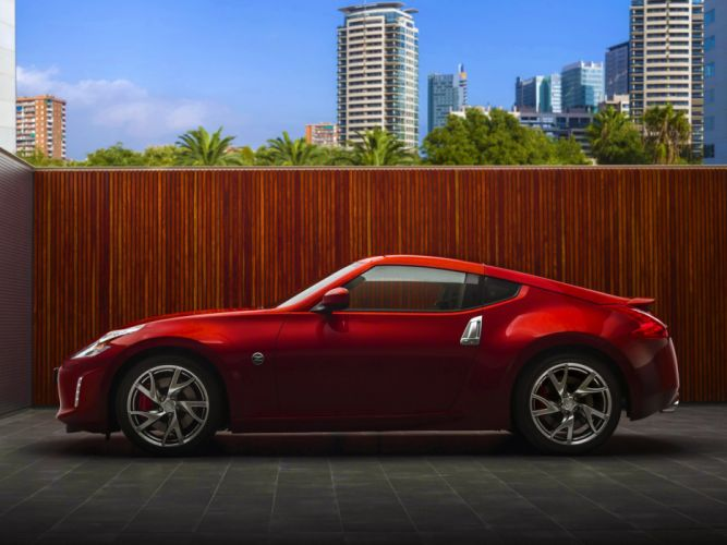 Nissan 370Z coupe cars 2012 wallpaper