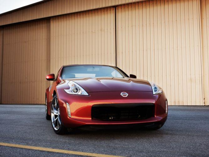Nissan 370Z coupe US-spec cars 2012 wallpaper
