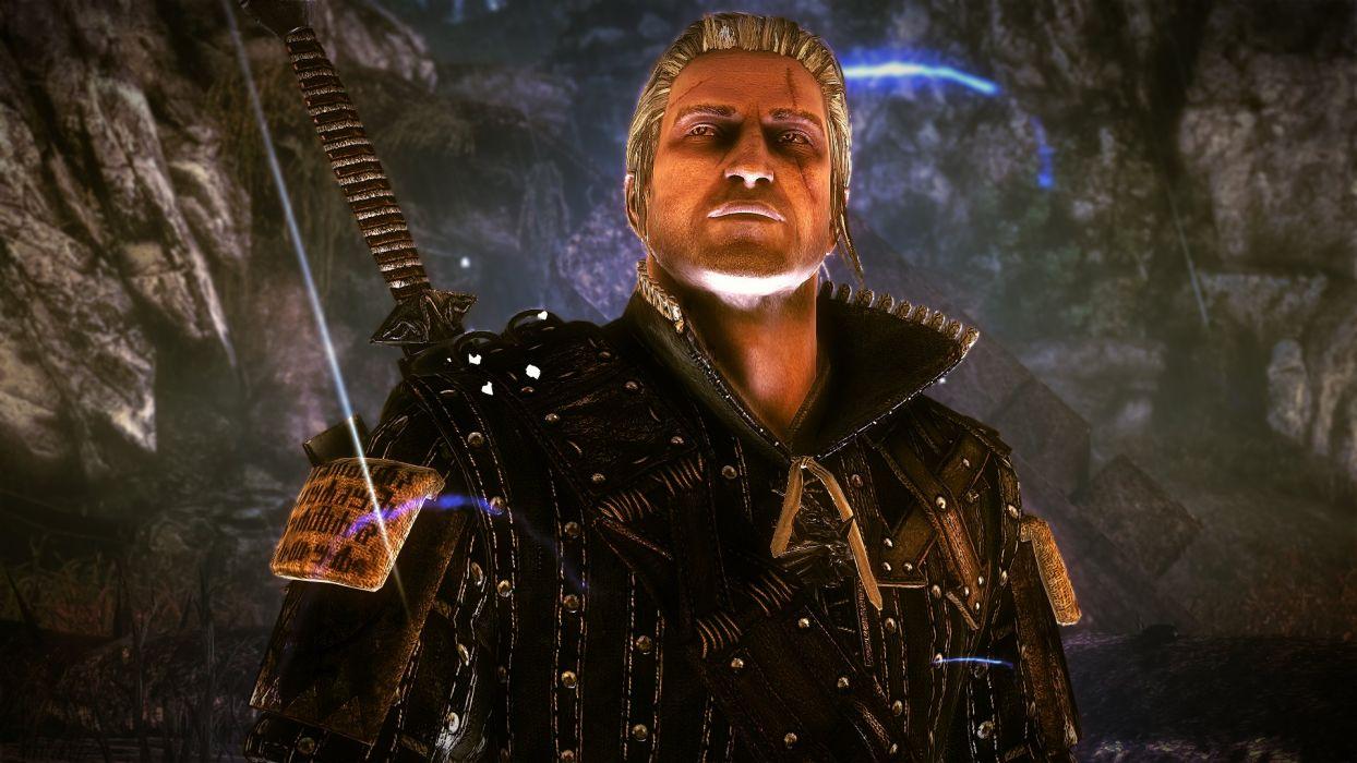 The Witcher 2 Assassins of Kings Geralt Quen wallpaper