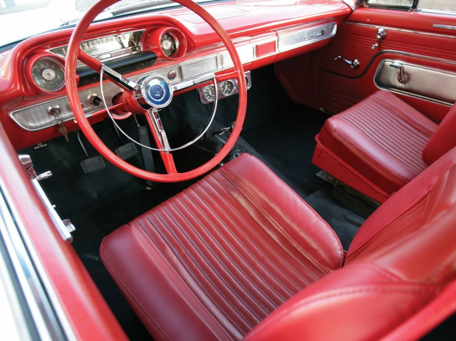 1963 Ford Galaxie 500 Factory Lightweight cars wallpaper