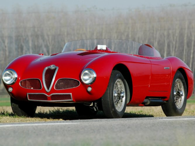 Alfa Romeo 6C-3000 Spider (1361) cars 1952 wallpaper