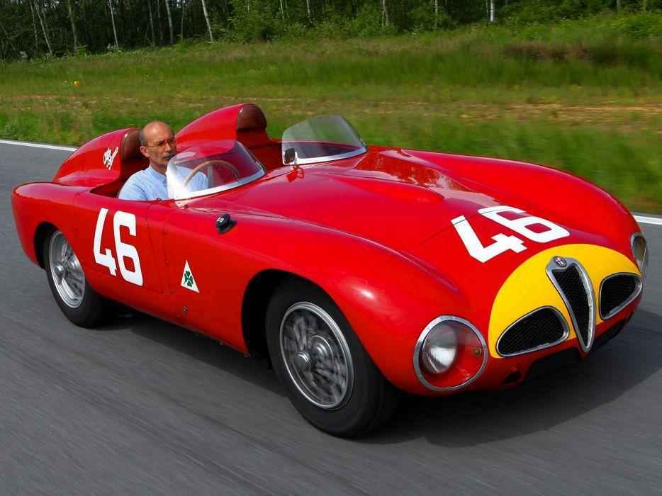 Alfa Romeo 6C-3000 spider (1361) cars 1953 wallpaper