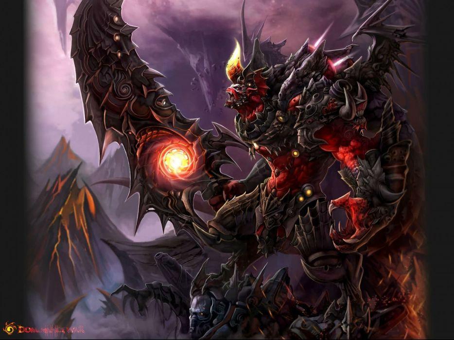 DOMINANCE WAR fantasy artwork art magic perfect action fighting adventure gods god 1domw warrior wallpaper