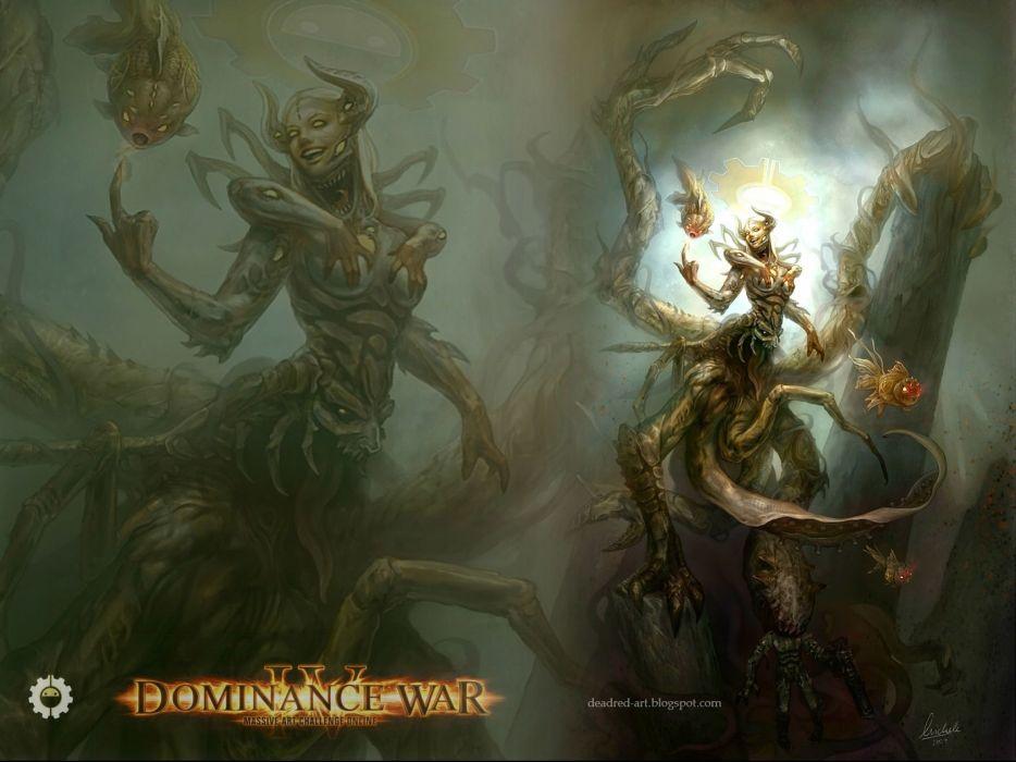 DOMINANCE WAR fantasy artwork art magic perfect action fighting adventure gods god 1domw warrior poster wallpaper