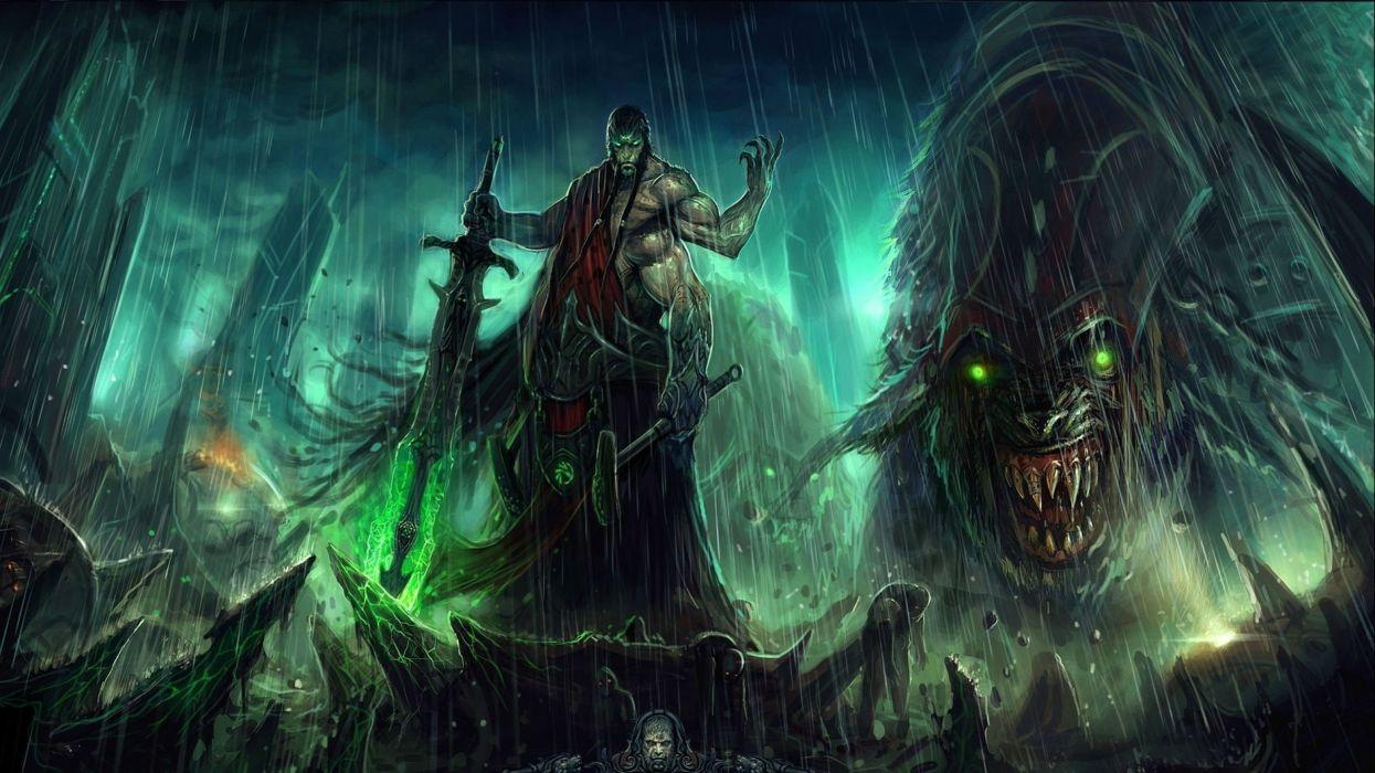 God Of War Fantasy Art