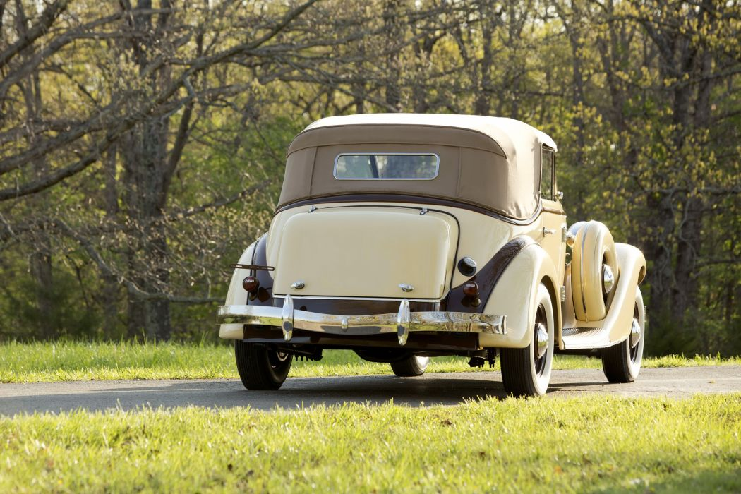1936 Auburn 852 Dual Ratio Phaeton cars classic wallpaper
