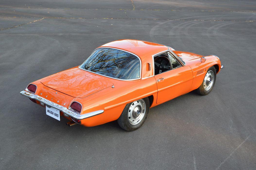 Mazda 110S coupe cars 1968 wallpaper