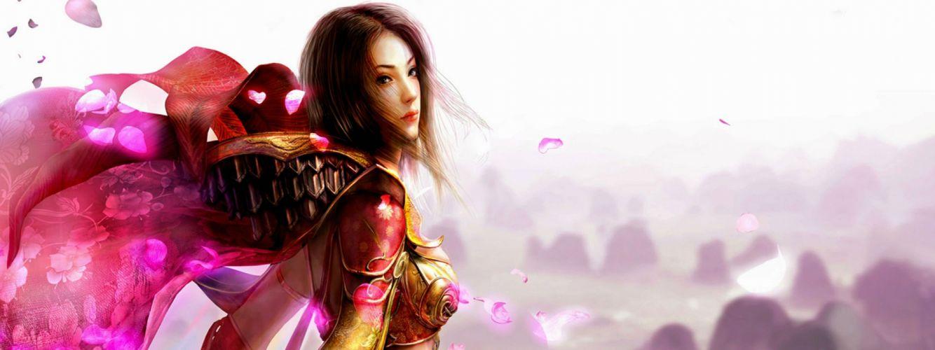 LEGEND Of MIR fantasy mmo online rpg perfect sprite fairy oriental asian artwork 1lomir warrior samurai wallpaper