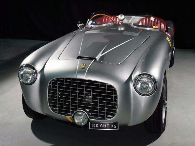 Ferrari 212 Export Motto Spyder cars 1951 wallpaper
