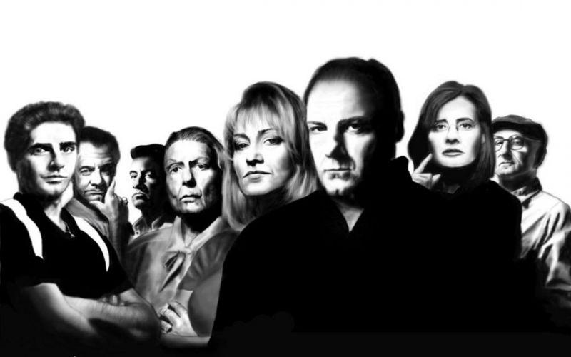 the sopranos serie tv drama wallpaper