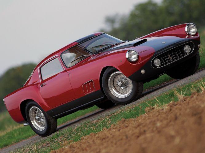 Ferrari 250-GT Berlinetta Tour de France louvre cars Pininfarina 1959 wallpaper