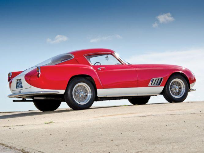 Ferrari 250-GT Berlinetta Tour de France louvre cars Pininfarina 1958 wallpaper