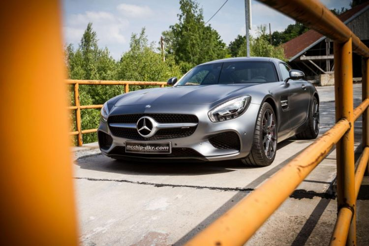 Mercedes AMG-GT MCCHIP-DKR cars modified wallpaper