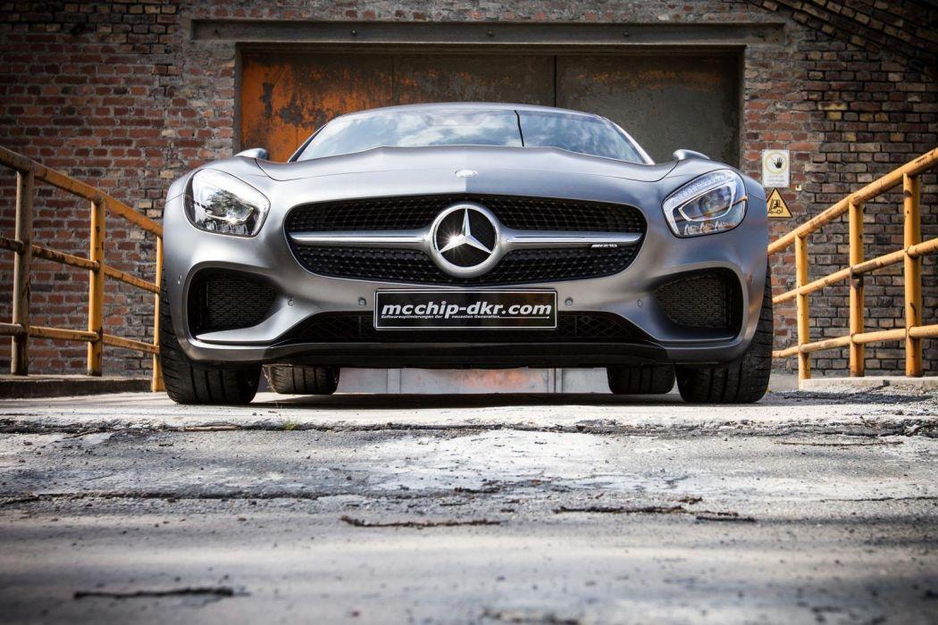 Mercedes AMG-GT MCCHIP-DKR cars modified wallpaper