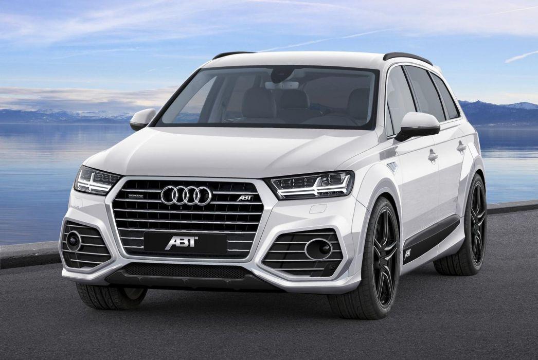 2015 Audi-Q7 ABT modified cars suv wallpaper