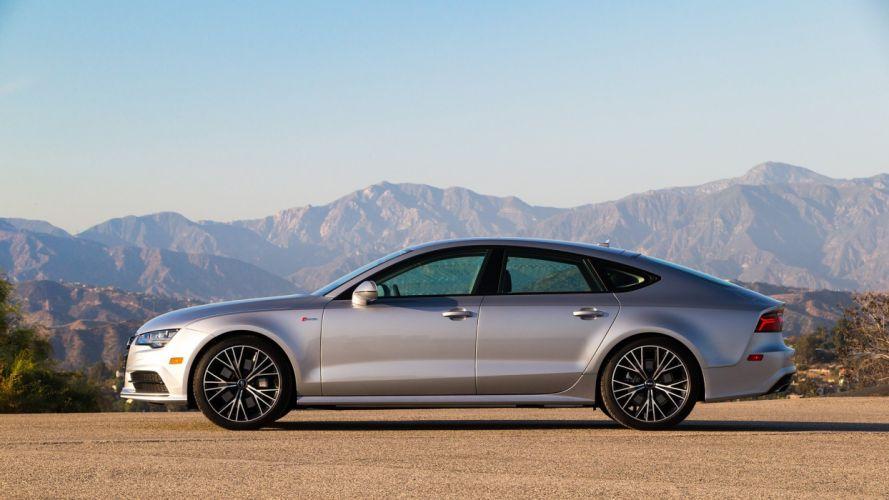2016 Audi-A7 Sportback TFSI quattro S-Line US-spec cars wallpaper