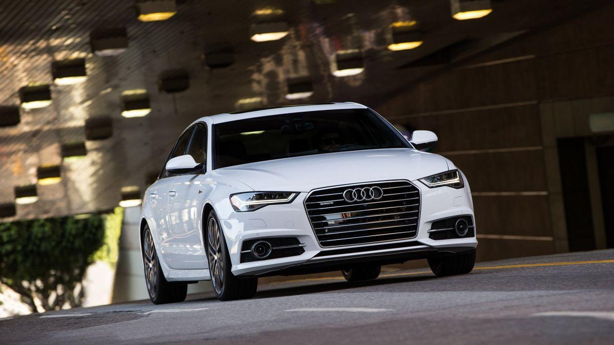 2016 Audi-a6 TFSI quattro S-line cars US-spec wallpaper