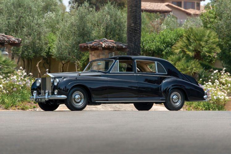 Rolls-Royce Phantom-V Sedanca Deville James Young classic cars 1960 wallpaper